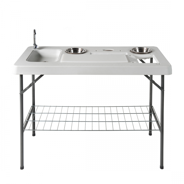 Spoeltafel Easy (klapbaar) - staal/kunststof