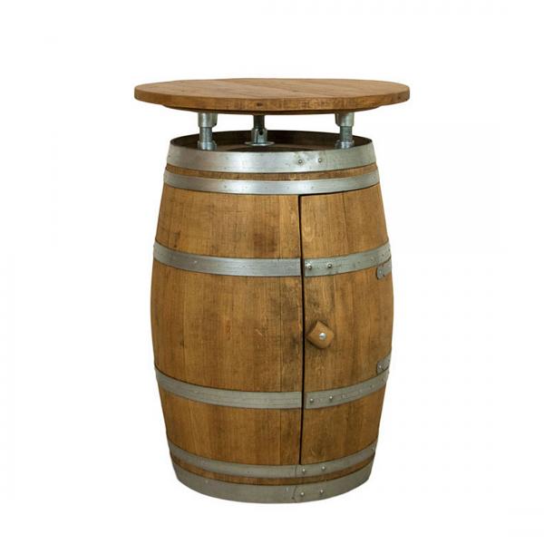 Statafel van wijnvaten