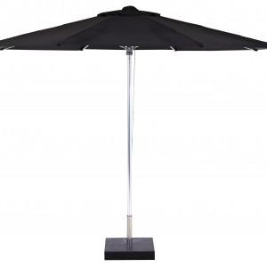 Deze Borek Aluminium parasol Zwart koop je via Tuinmeubelendeal.nl