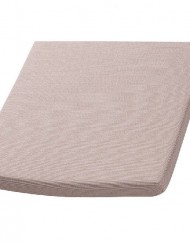 All weather zitkussen taupe 44x44 cm met rits - Tuinmeubelendeal.nl