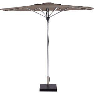 Deze Borek Aluminium parasol Taupe koop je via Tuinmeubelendeal.nl