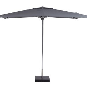 Deze Borek Aluminium parasol Grijs koop je via Tuinmeubelendeal.nl