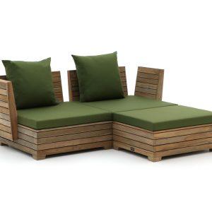 ROUGH-B chaise longue loungeset 3-delig - Laagste prijsgarantie!