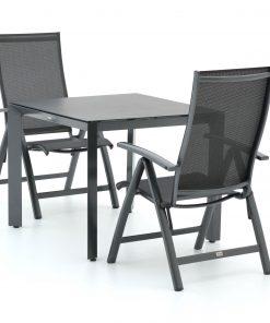 Bellagio Elegance/Veneto 90cm dining tuinset 3-delig verstelbaar - Laagste prijsgarantie!