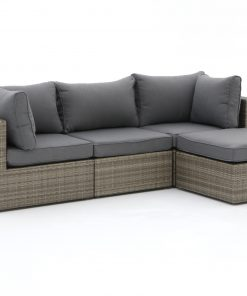 Forza Barolo chaise longue loungeset 4-delig - Laagste prijsgarantie!
