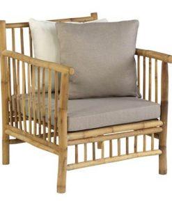 Exotan Bamboo Loungestoel - Tuinmeubelendeal.nl
